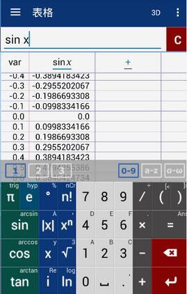 Mathlab图形计算器特别版 v4.10.136 - 截图1