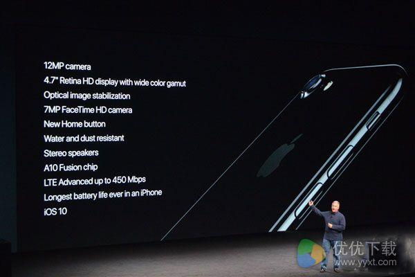 iPhone 7完全规格一览