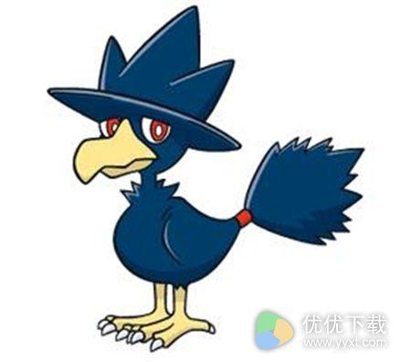 pokemon go黑暗鸦坐标位置