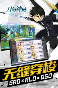 刀剑神域-黑衣剑士安卓版 v1.1.0.41 - 截图1