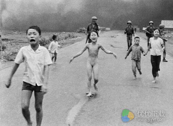 facebook出现的越战纪念照