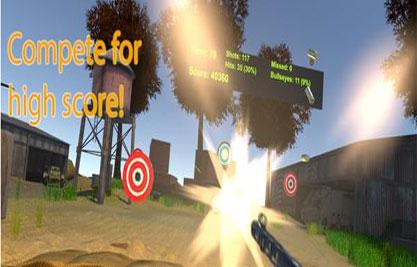 单人FPS VR射击游戏《BULLETS AND MORE》已上架4
