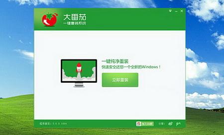 大番茄一键重装系统 v2.0.1.0524 - 截图1