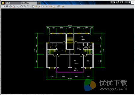 cad迷你看图软件 V2015R8 免费版(cad软件) - 截图1