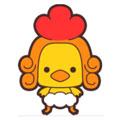 毛毛鸡表情包正式版