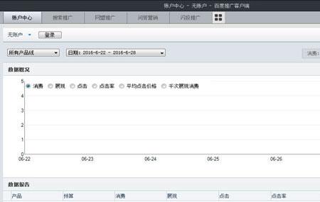 百度推广客户端官方版 v5.75 - 截图1