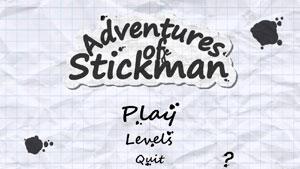 火柴人历险记(Adventures of Stickman)安卓版 v1.6 - 截图1