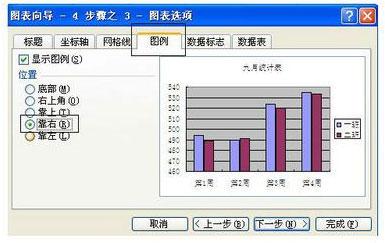 excel怎么将表格数据图形化5