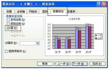 excel怎么将表格数据图形化6