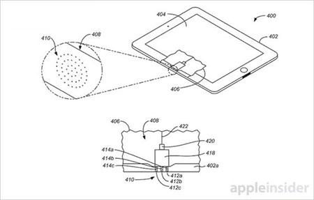 苹果再或新专利:激光地图系统+压感机械键盘+光学连接器3