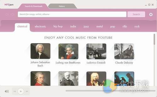 MP3jam音乐搜索下载器官方版 v1.1.1.6 - 截图1