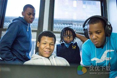 """谷歌宣布Code Next计划正式启动:非洲裔学生学""""敲代码""""2"""