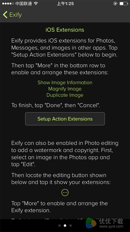 Exify测评:照片参数管理好帮手2