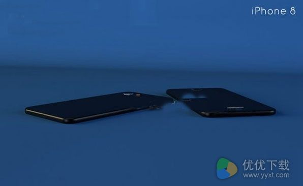 苹果iphone8概念机2