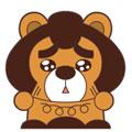 毛毛熊蓝瘦香菇表情官方版