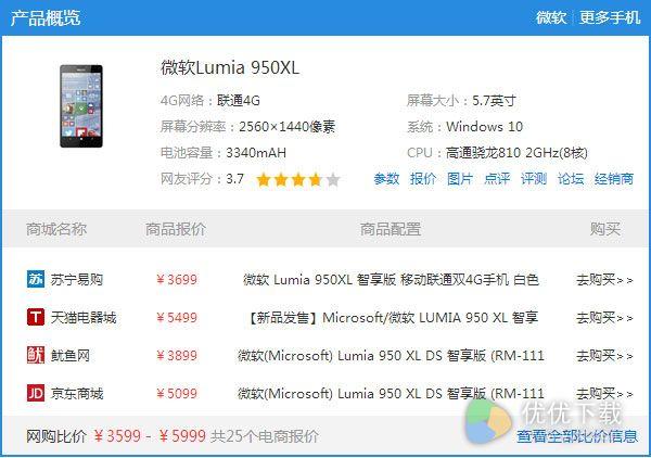 Lumia 950 XL腰斩清仓或已停产3