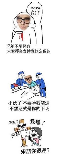 马蓉宋喆表脸表情包 v1.0 - 截图1