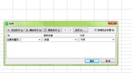 在wps表格中怎么设置按姓氏排序3