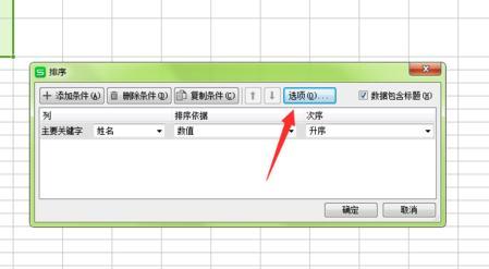 在wps表格中怎么设置按姓氏排序5