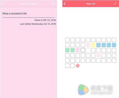 Life Calendar测评:人生日记永久回忆4