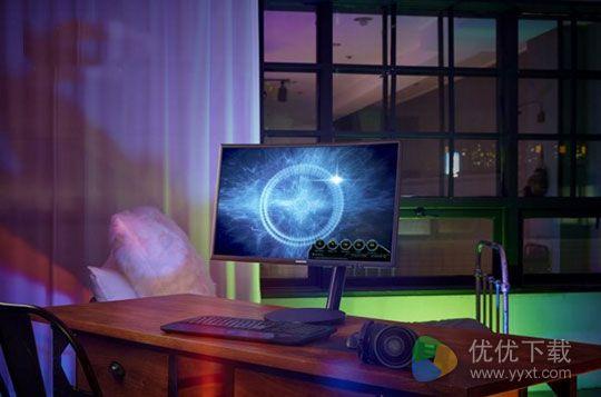 三星CFG70游戏曲面显示器上市