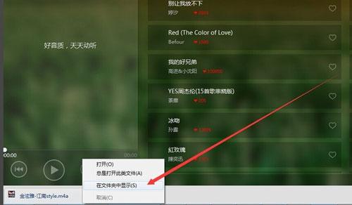 天天动听电脑版下载的歌曲在哪个文件夹3