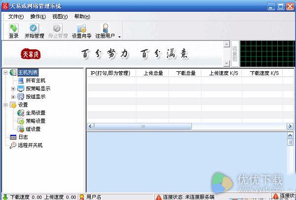 天易成网管中文版 V5.31 - 截图1