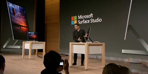 微软Surface一体机开放预订 面向专业用户对抗苹果iMac1