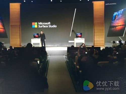 史上最强一体机!微软Surface Studio发布