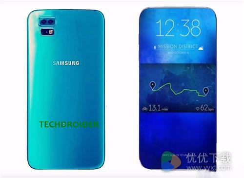 三星新旗舰机曝光 Galaxy S8拍照强大外形美丽1