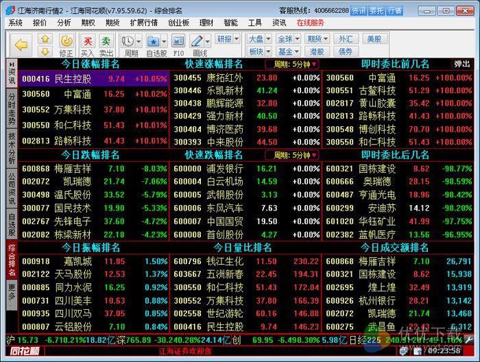 江海证券同花顺官方版 v7.95.59 - 截图1
