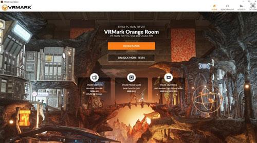 PC VR跑分软件VRMark发布