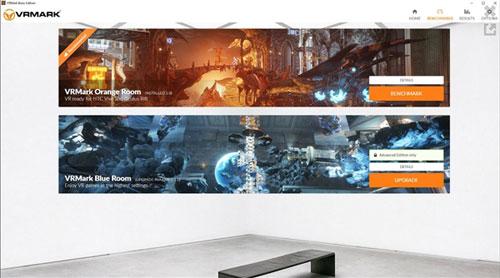 PC VR跑分软件VRMark发布2