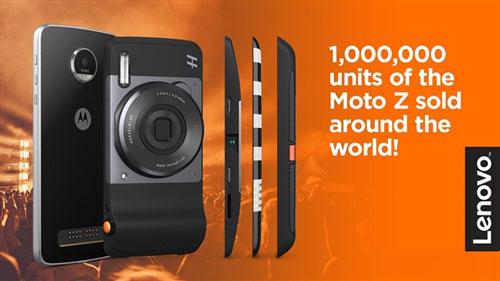 联想宣布Moto Z销量100万部