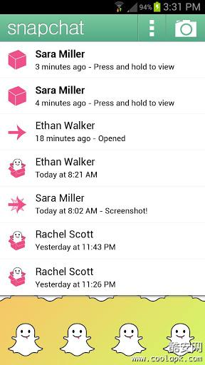 Snapchat for Android版 v9.43.0.0 - 截图1