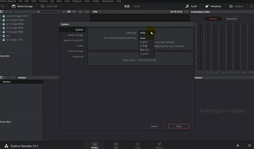 DaVinci Resolve Studio中文版 v12.5.3 - 截图1