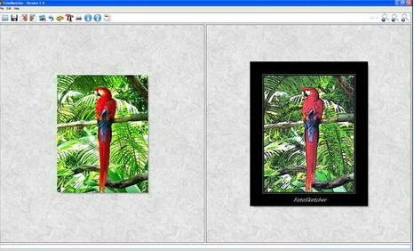 FotoSketcher中文版(图片素描化工具) v3.20 - 截图1
