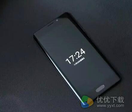 小米Note2新功能:锁屏显示时间!