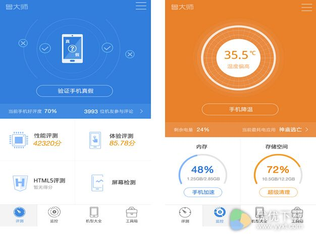 鲁大师app手机版 v7.9.1.16.1130 - 截图1
