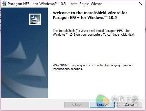 Paragon HFS+ For Windows版 v10.5.0.133 - 截图1