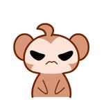 黑眼猴学霸日常表情包 免费版