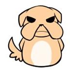 黑眼狗单身日常表情包 免费版