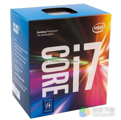 Intel Kaby Lake处理器包装盒首曝:力顶VR