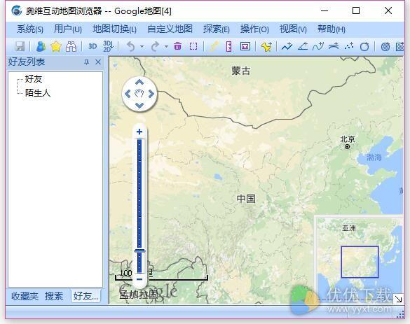 奥维互动地图浏览器电脑版