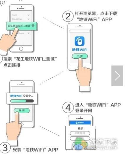 花生地铁WiFi如何使用