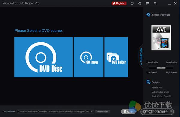 WonderFox DVD Ripper Pro专业版 v8.2 - 截图1