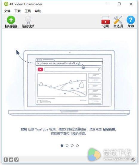 4K Video Downloader中文版 v4.2.0 - 截图1