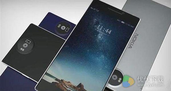 诺基亚8手机外观图图赏