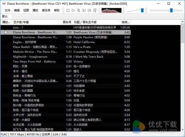 Foobar2000官方版 - 截图1