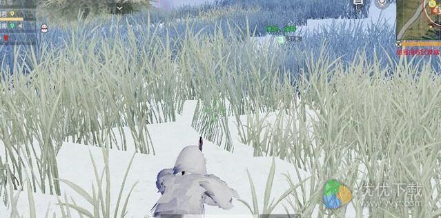 荒野行动雪地吉利服有用吗